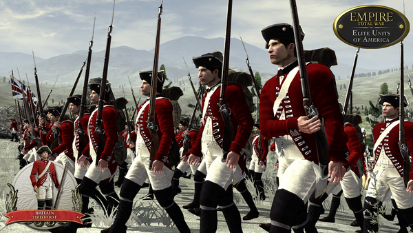 Скриншот из Empire: Total War - Elite Units of America DLC