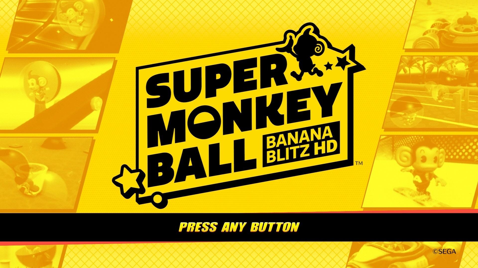 Super Monkey Ball: Banana Blitz HD on Steam