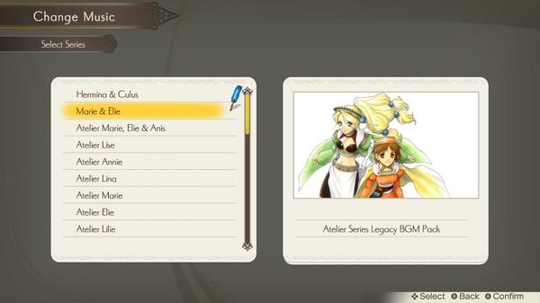 Atelier Lulua: Atelier Series Legacy BGM Pack (DLC)