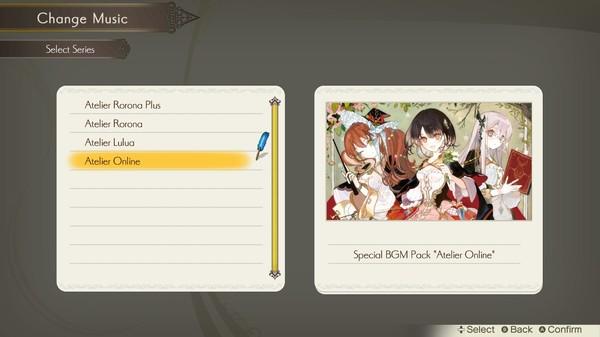 """Atelier Lulua: Special BGM Pack """"Atelier Online"""" (DLC)"""