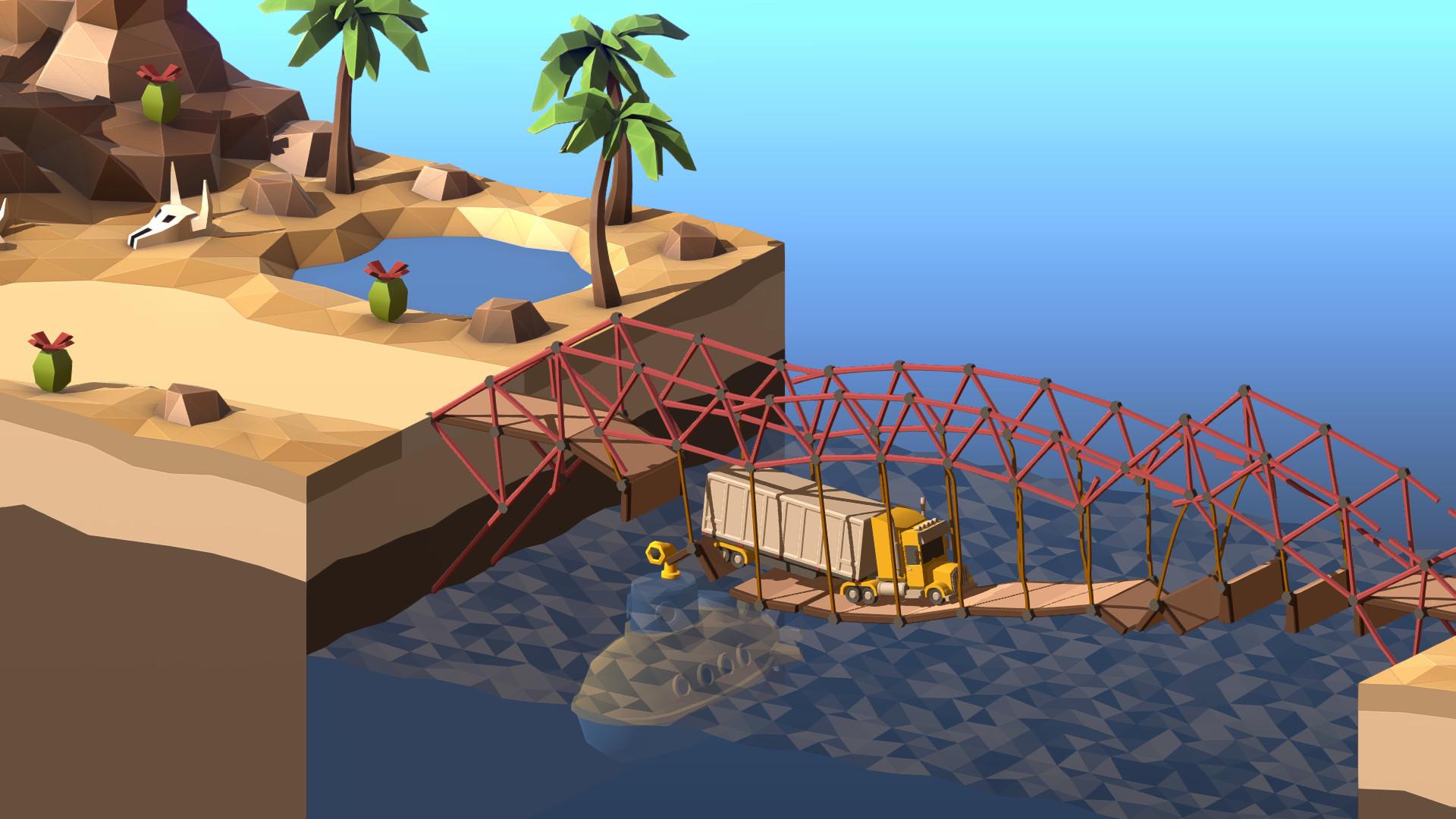 Poly Bridge 2 Resimleri