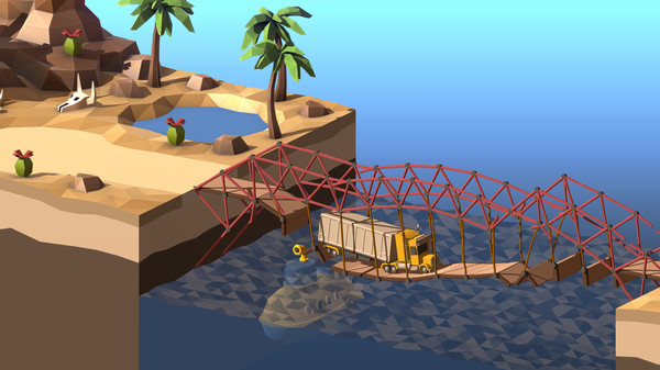 Poly Bridge 2 chegará em 28 de Maio | Married Games Notícias | Game, pc, poly bridge 2 | Poly Bridge 2