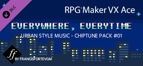 Save 15% on RPG Maker VX Ace - Everywhere, Everytime Music Pack on Steam