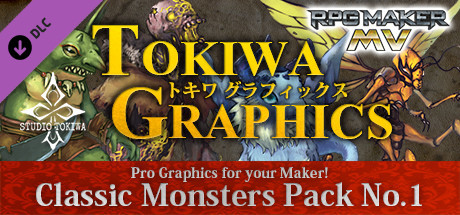 RPG Maker MV - TOKIWA GRAPHICS Classic Monsters Pack No 1