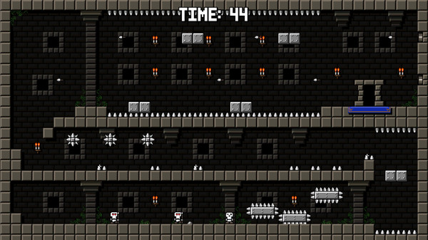Castle Of Pixel Skulls