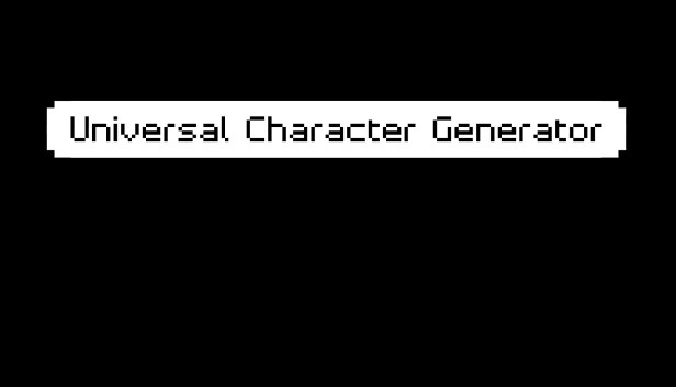 Universal Character Generator on Steam