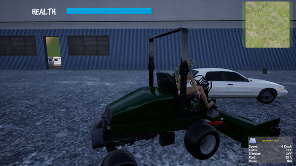 Lawnmower Game 4: The Final Cut