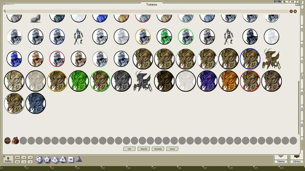 Fantasy Grounds - Creatures A-Z, Volume 9 (Token Pack) (DLC)