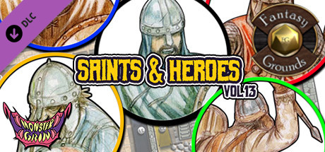 Fantasy Grounds - Saints & Heroes, Volume 13 (Token Pack)