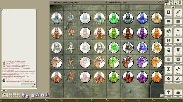Fantasy Grounds - Saints & Heroes, Volume 13 (Token Pack) (DLC)