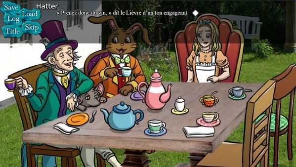 BRG's Alice in Wonderland Visual Novel