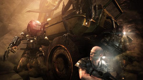 Скриншот из Aliens vs. Predator