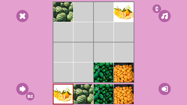 Fruit 7 Sudoku (DLC)