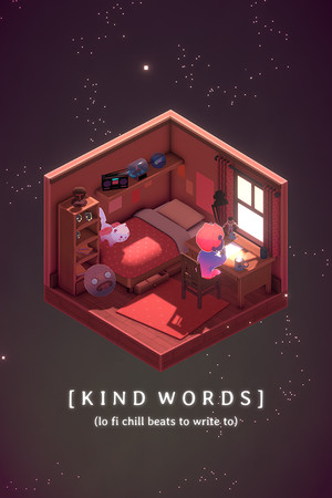 Kind Words (lo fi chill beats to write to) poster image on Steam Backlog