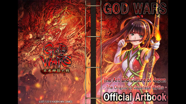 GOD WARS The Complete Legend - Art Book (In English) (DLC)