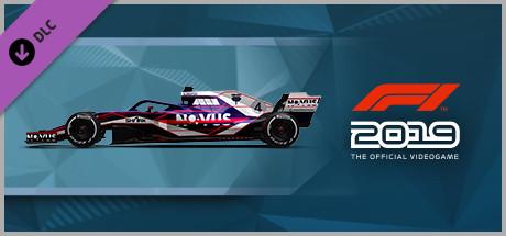 F1 2019: Car Livery 'NOVUS - Datastream' (DLC)