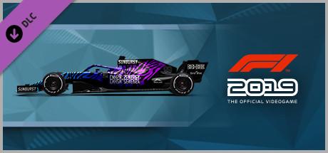 F1 2019: Car Livery 'CNH2N+2ENERGY - Tiger' (DLC)