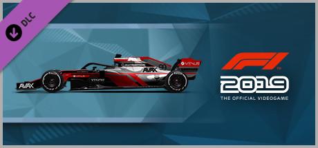 F1 2019: Car Livery 'AVAX - Pinstripe' (DLC)