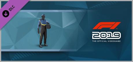 F1 2019: Suit 'Blue and Black' (DLC)