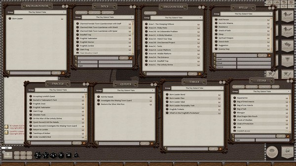 Fantasy Grounds - Fifth Edition Fantasy #2 – The Fey Sisters' Fate (5E) (DLC)