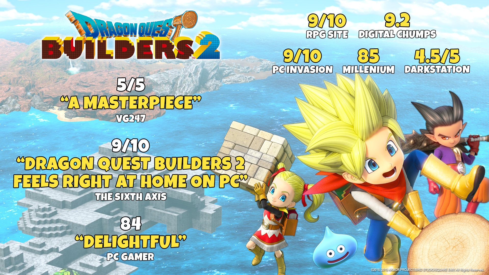 Dragon Quest Builders 2 On Steam