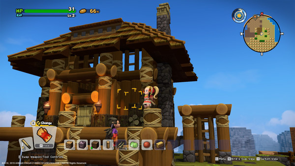 Capture d'écran n°2 du Jeu DRAGON QUEST BUILDERS™ 2