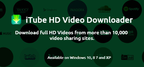 iTube HD Video Downloader - Download videos from 10000+ sites, 3X Faster  Download Speed, Download Entire Playlist, Record Online Video  on Steam