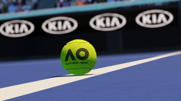 Capture d'écran n°2 du Jeu AO Tennis 2