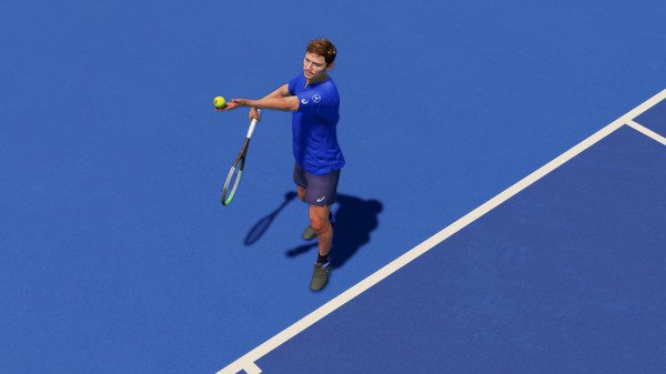 Capture d'écran n°1 du Jeu AO Tennis 2