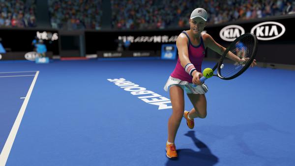 Capture d'écran n°3 du Jeu AO Tennis 2