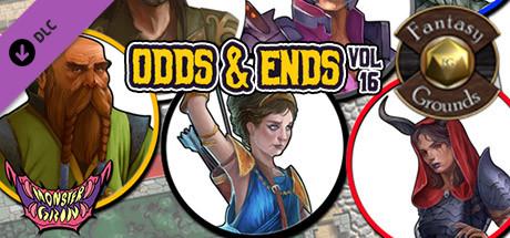 Fantasy Grounds - Odds & Ends, Volume 16 (Token Pack)