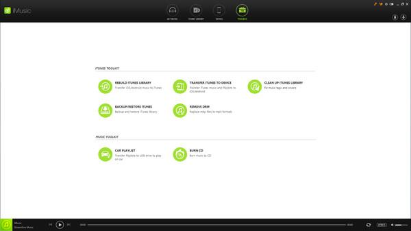 Скриншот из Aimersoft iMusic