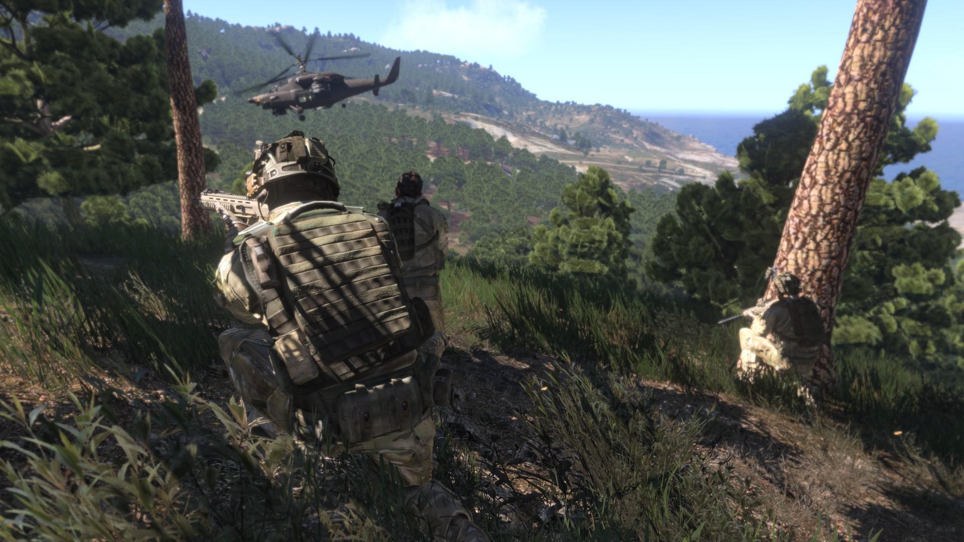 Screenshot of ArmA 3 server hosting