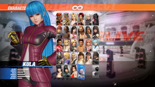 DOA6 Character: Kula Diamond (DLC)