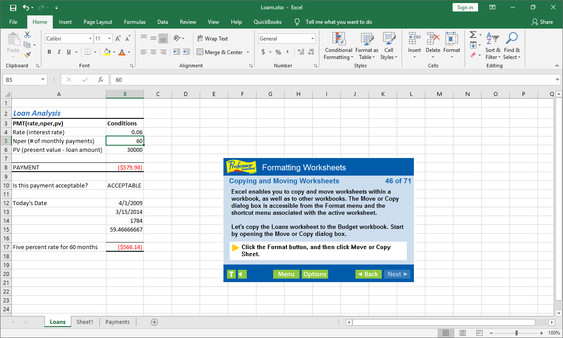 Professor Teaches Excel 2019