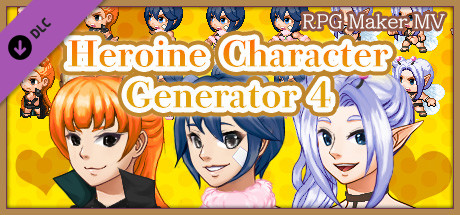 RPG Maker MV - Heroine Character Generator 4 on Steam