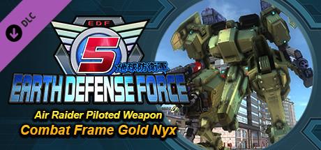 Купить EARTH DEFENSE FORCE 5 - Air Raider Piloted Weapon Combat Frame Gold Nyx (DLC)