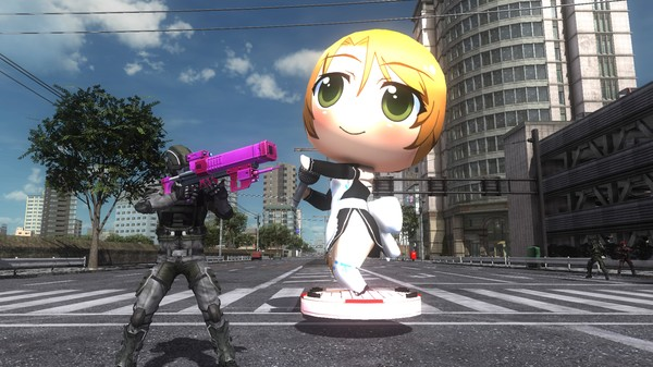 EARTH DEFENSE FORCE 5 - Ranger Weapon Singing and Dancing Pure Decoy Launcher Set of 8 (DLC)