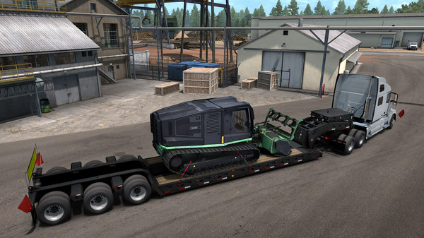 American Truck Simulator - Forest Machinery (DLC)