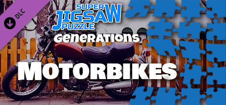 Super Jigsaw Puzzle: Generations - Motorbikes Puzzles