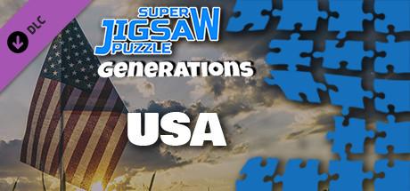 Купить Super Jigsaw Puzzle: Generations - USA Puzzles (DLC)