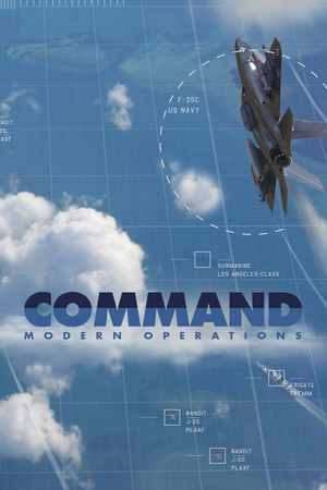 Command: Modern Operations poster image on Steam Backlog