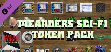 Fantasy Grounds - Meanders Sci-fi Token Pack: Series 1 - Set 2 (Token Pack)