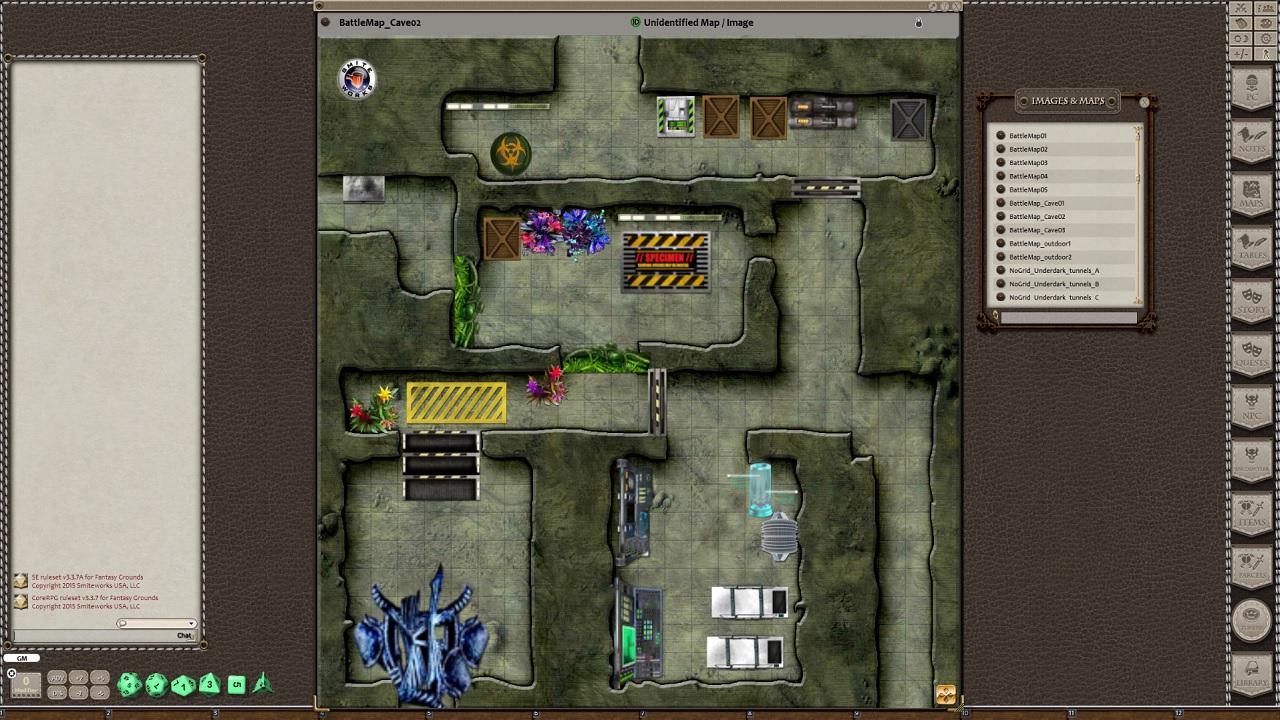 Fantasy Grounds - Meanders Sci-fi Token Pack: Series 1 - Set 2 (Token Pack)