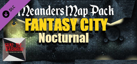 Купить Fantasy Grounds - Meanders Map Pack: Fantasy City Nocturnal (Map Pack) (DLC)