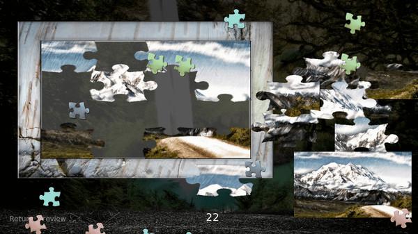 YGGDRASIL JIGSAW PUZZLE - NATURE (DLC)