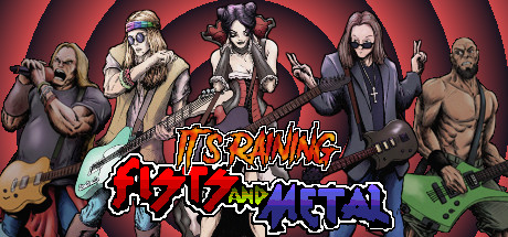 It's Raining Fists and Metal cover art