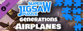 Super Jigsaw Puzzle: Generations - Airplanes Puzzles-dlc