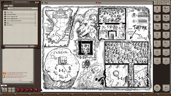 Fantasy Grounds - Dungeon Crawl Classics 2013 Holiday Module: The Old God's Return (DCC) (DLC)