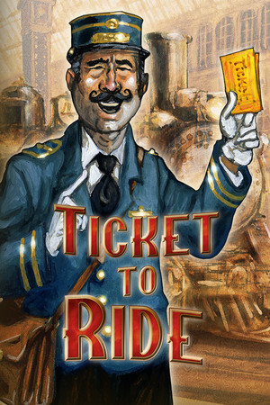 Ticket to Ride poster image on Steam Backlog